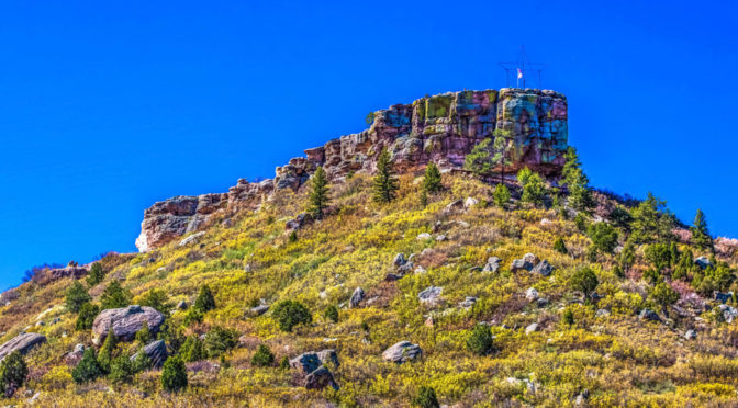 "Springtime at ""The Rock"" of Castle Rock!"