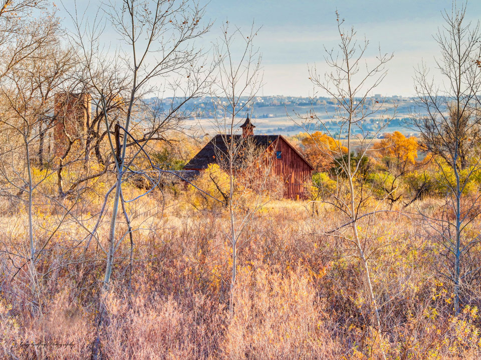 Centennial Farmhouse Colorado Landscape Photography